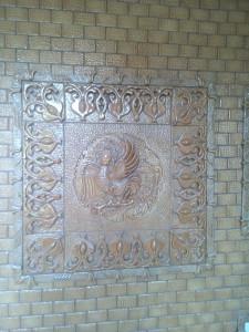 Ceramic panel 900 x 900 mm
