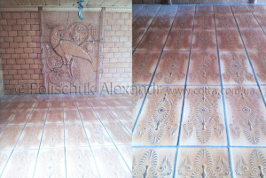 Ceramic tile 150 x 300 mm